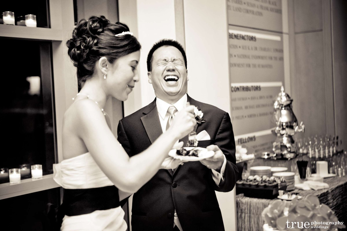 Vanessa and Len sharing a great moment. As a master of ceremonies, I help create great moments that don't revolve around me.