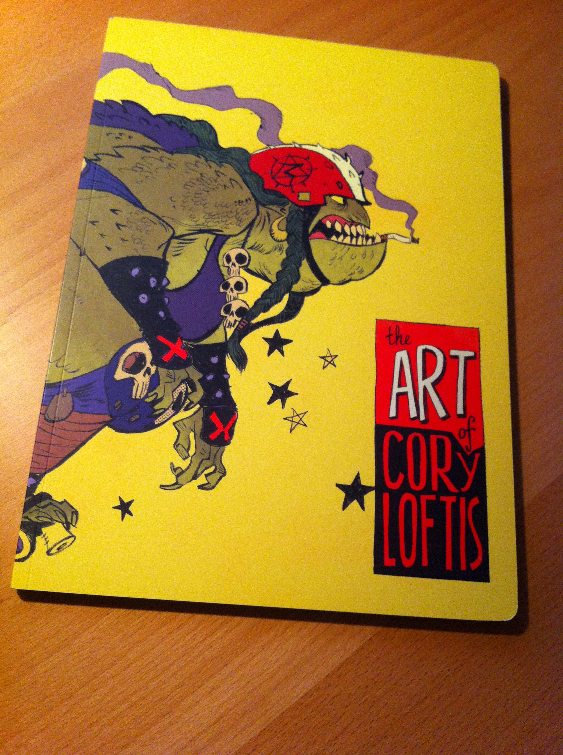 My new favorite book - The Art of Cory Loftis
