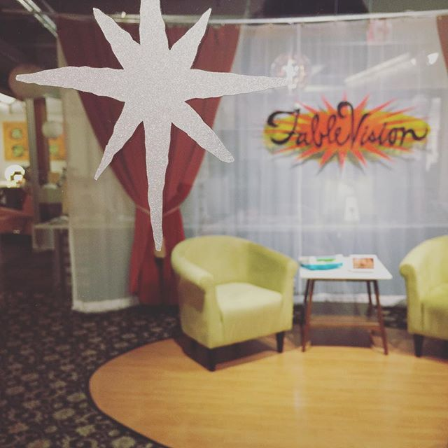 Welp, today marks my last day as an employee at FableVision. For 12 years I was welcomed by this view, and the crew sitting behind it. I'm going to miss everyone there a whole lot. I'll be posting about what's ahead for me in another post, but for today, just a fond farewell. 🧡💚