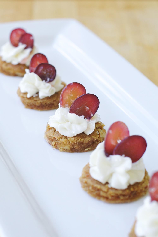 Sweet Grape Tarts