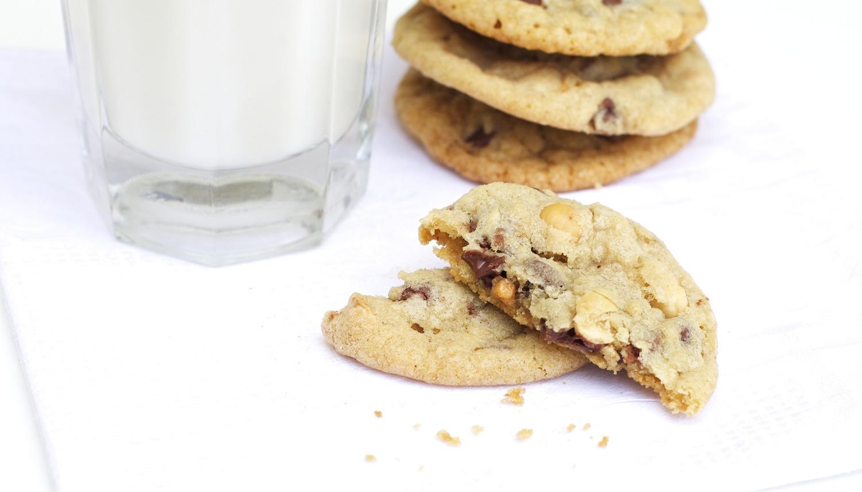 Hazelnut Chocolate Chip Cookies