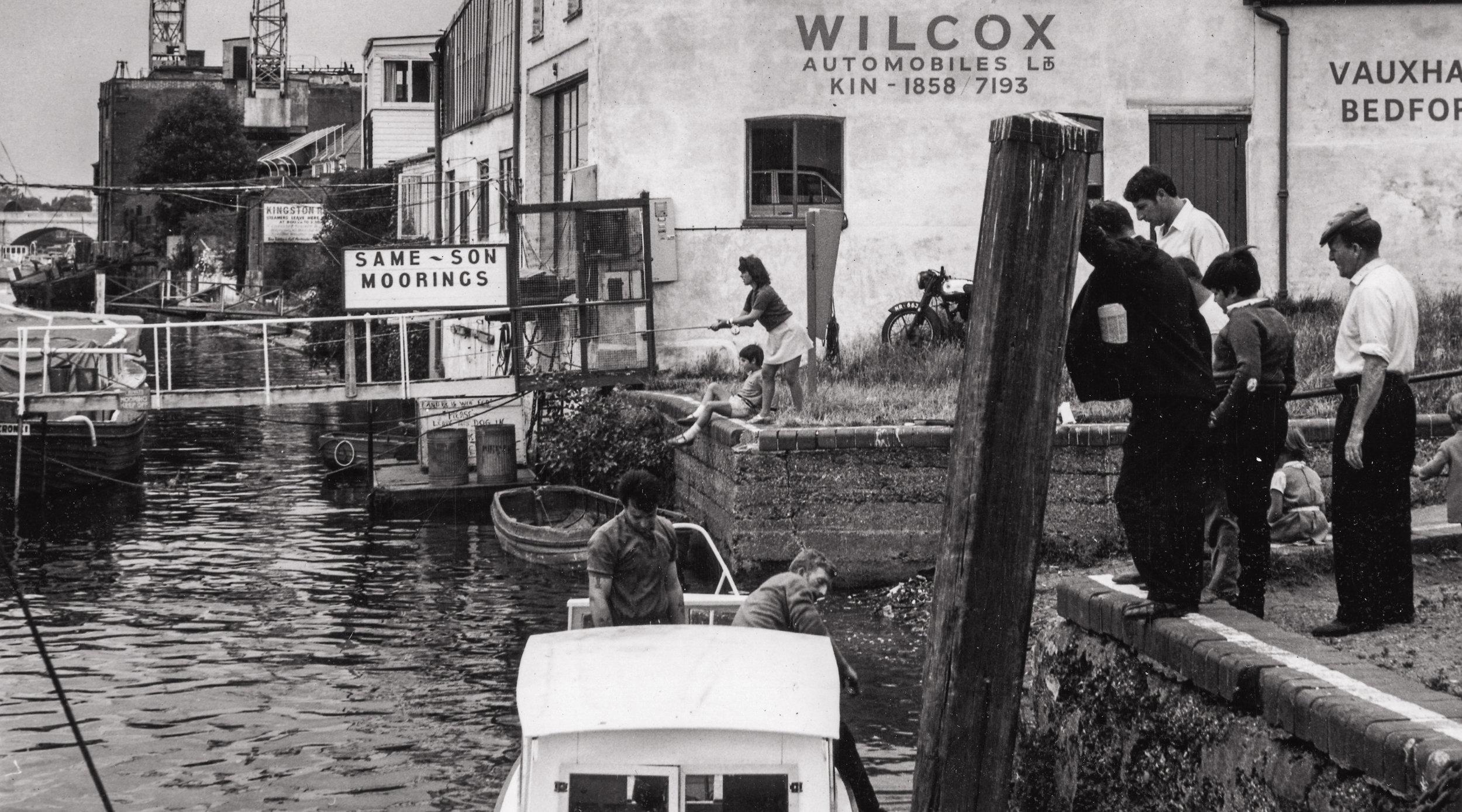 Charter quay riverfront history