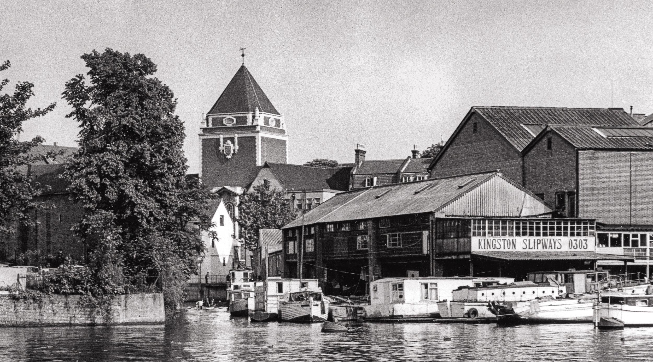 Charter Quay riverfront history.