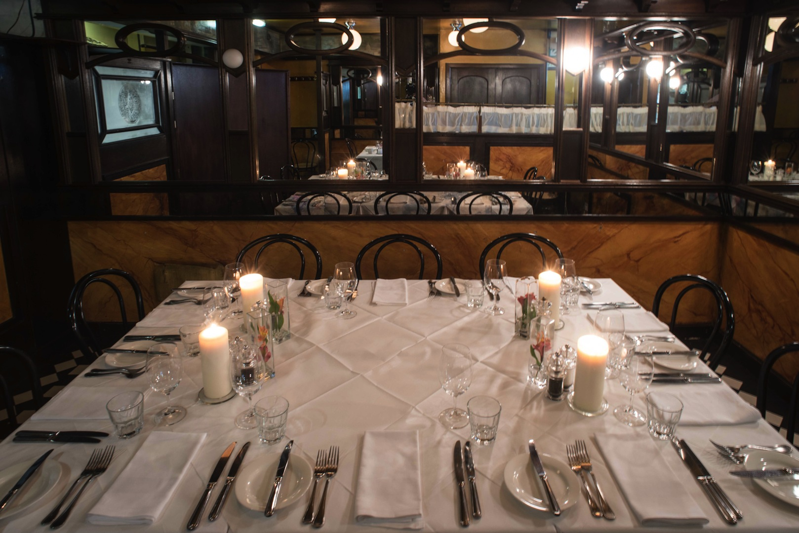 Private dining in our downstairs section.