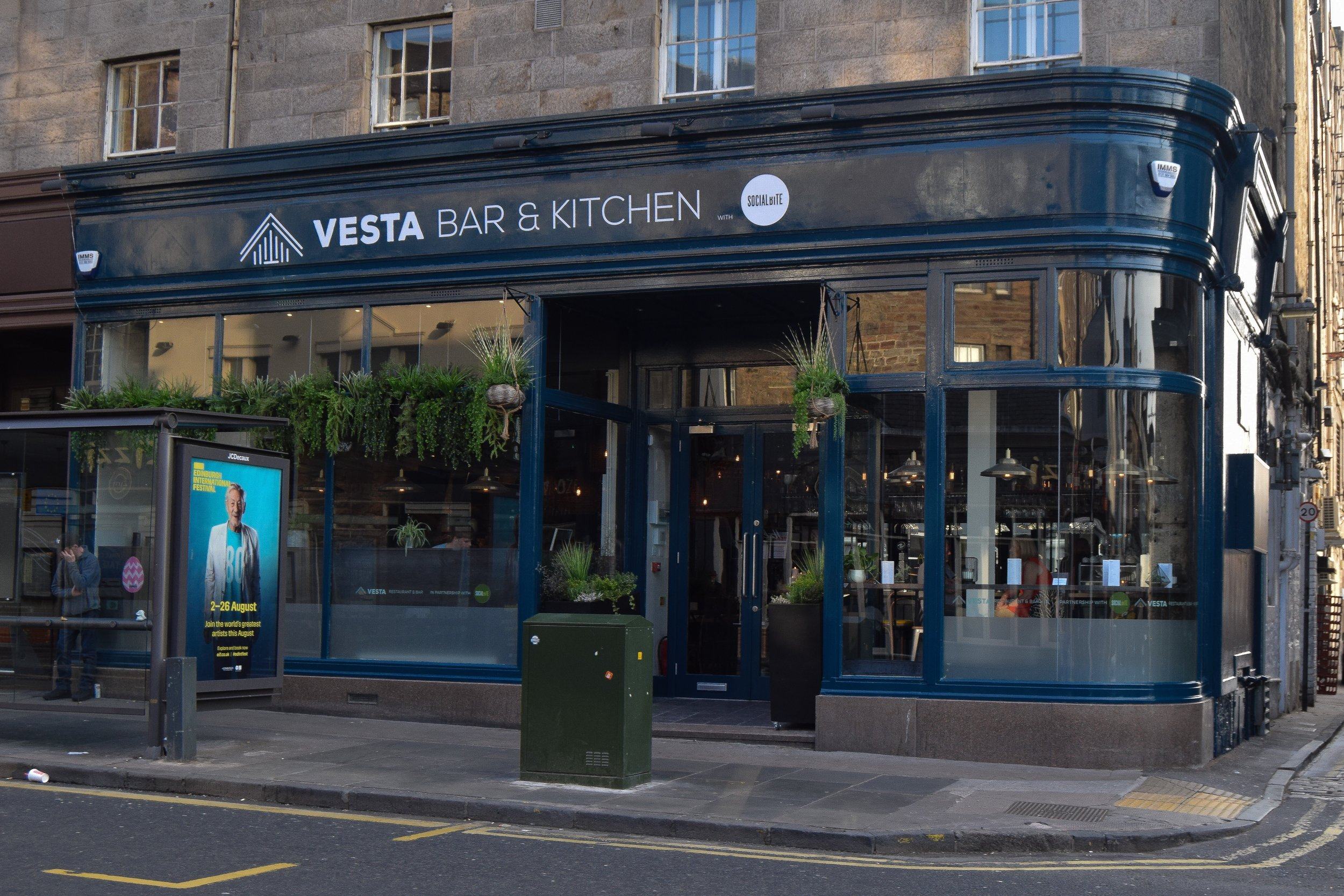 NEIL FORBES is cooking at Vesta on Wednesday 4th September.