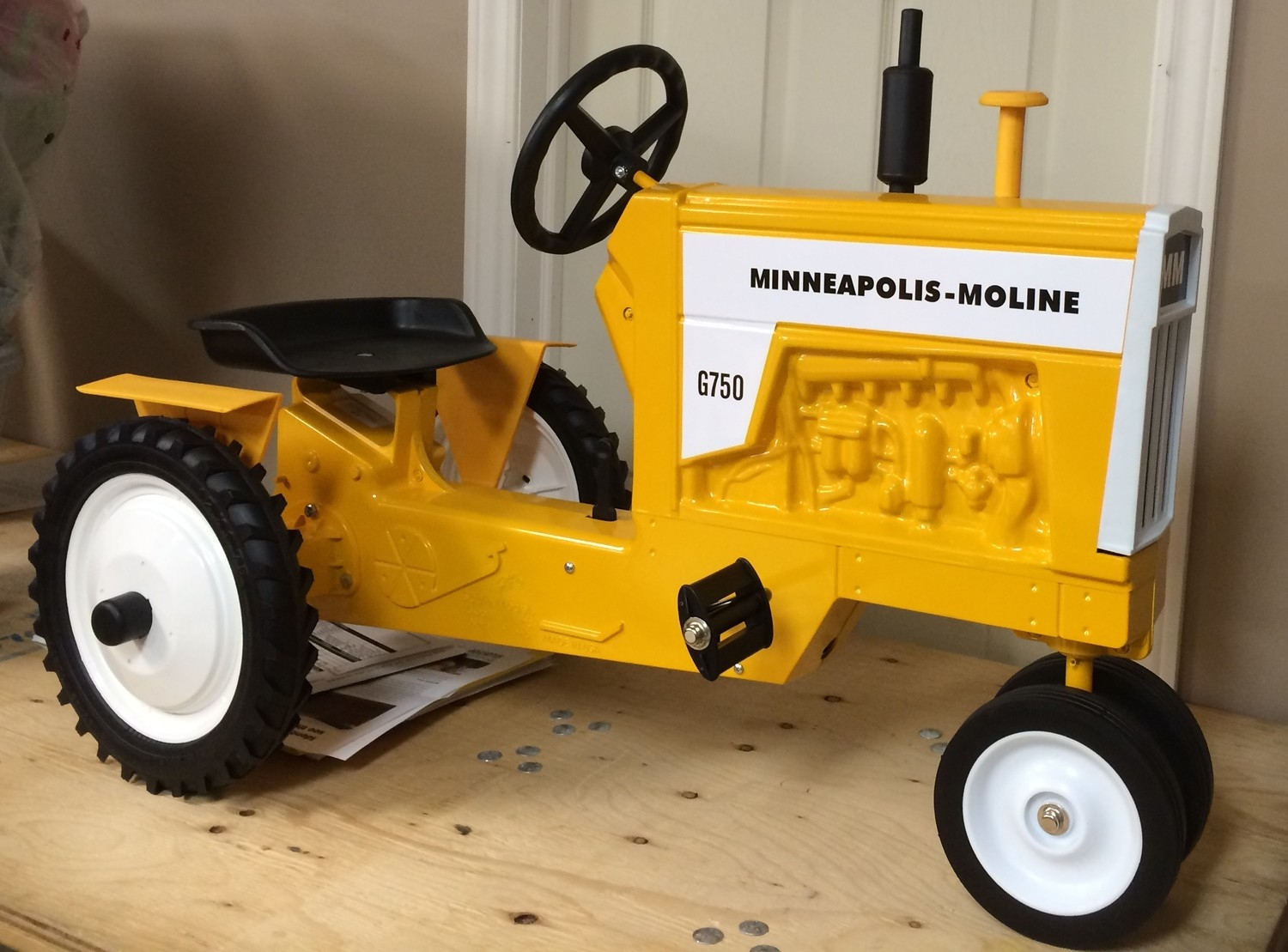 Minneapolis-Moline Pedal tractor retail price $500.00