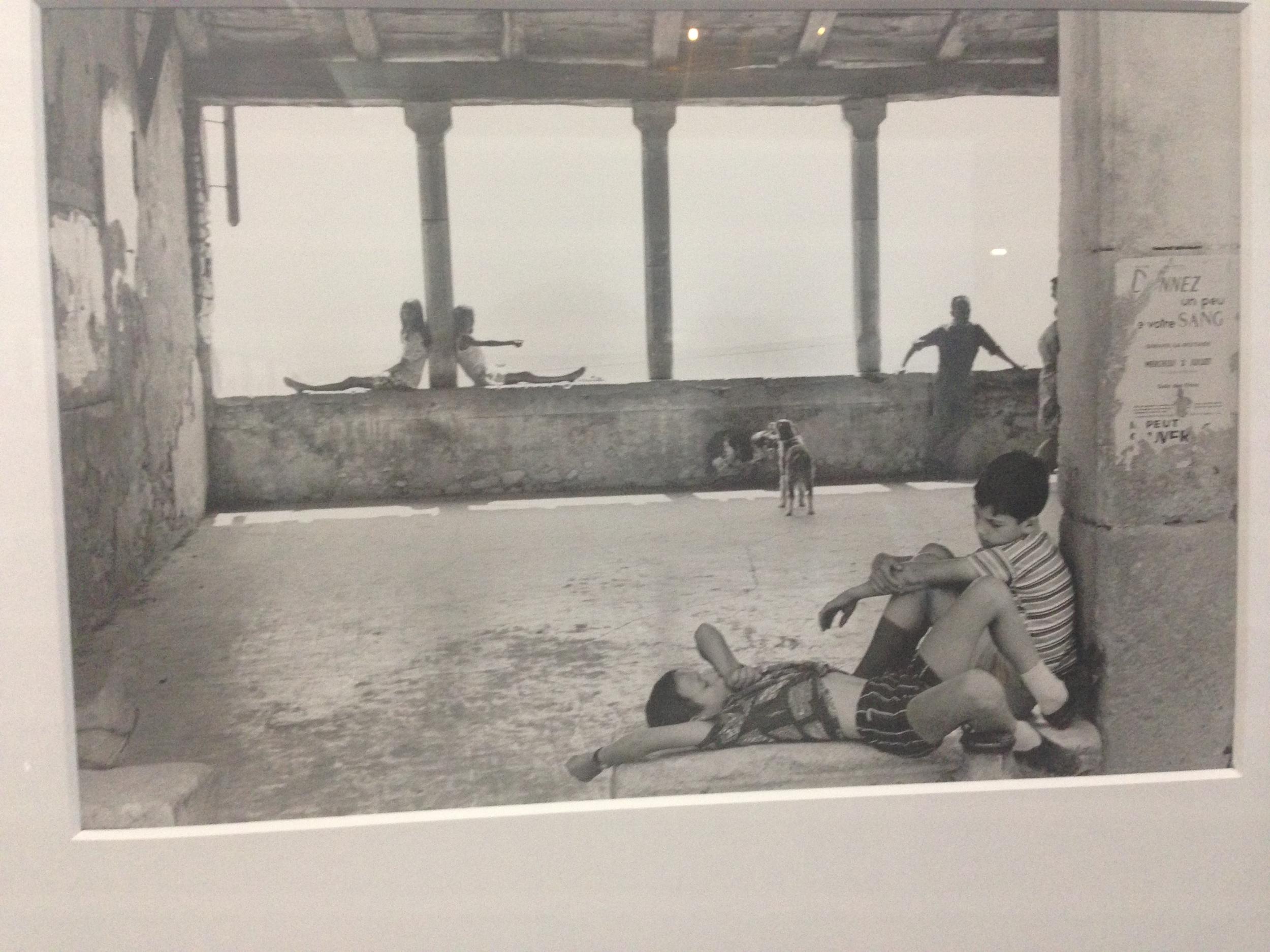Henri Cartier-Bresson, The Pompidou Center PARIS