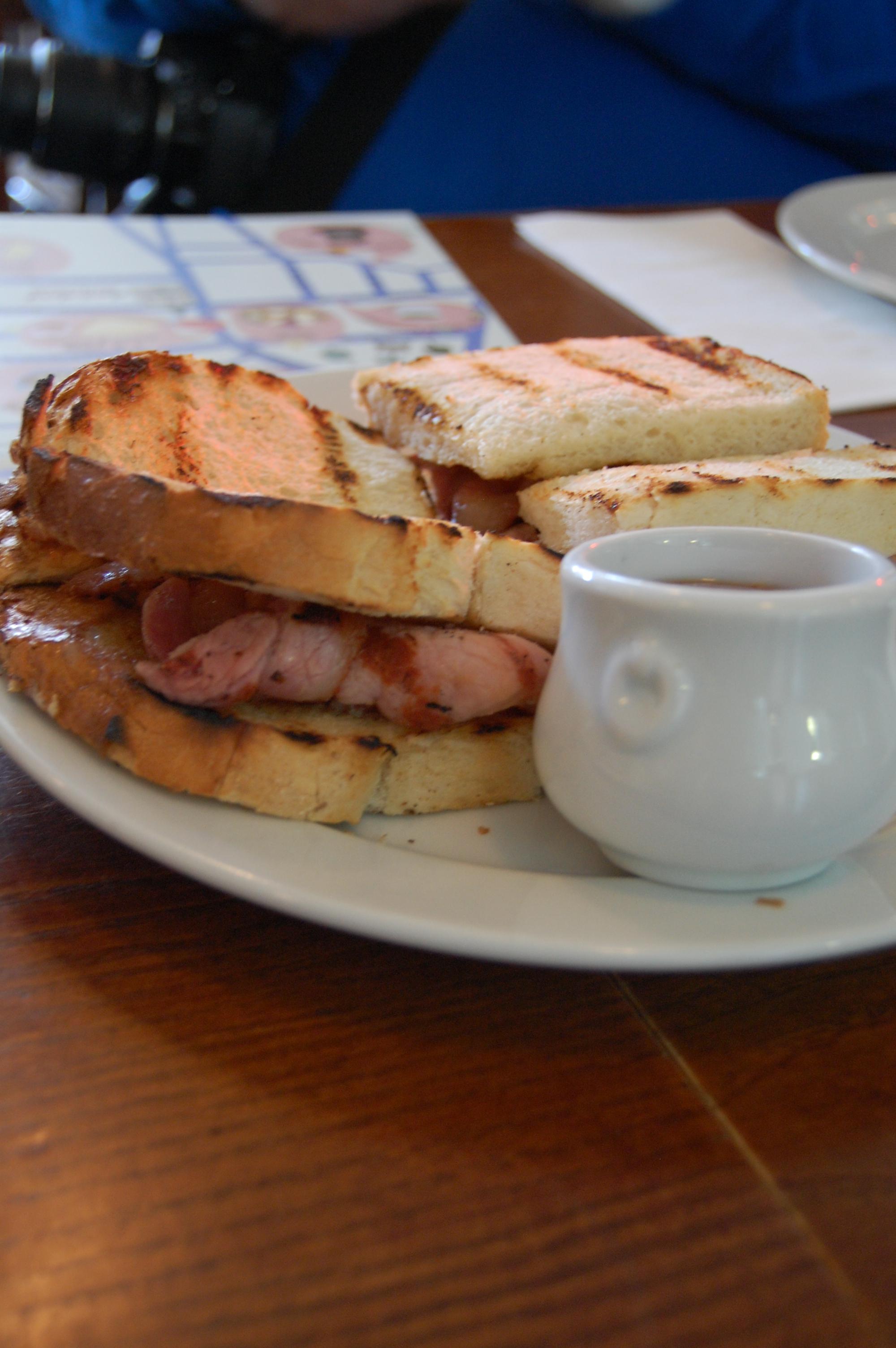 Bacon Sandwich at St. John Bread & Wine