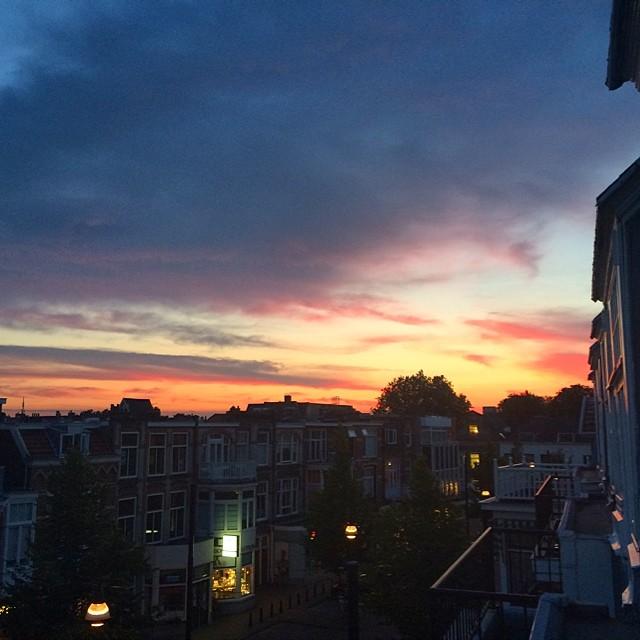 Holland does have some amazing sunsets. #holland #nederland #netherlands #travel #expatlife