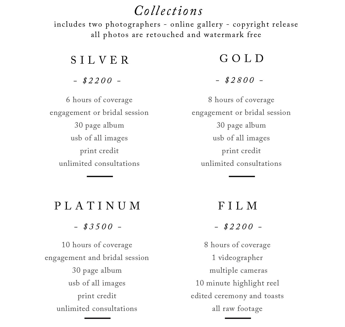 Wedding Photography Pricing.Wedding Photography Pricing And Packages Dustin