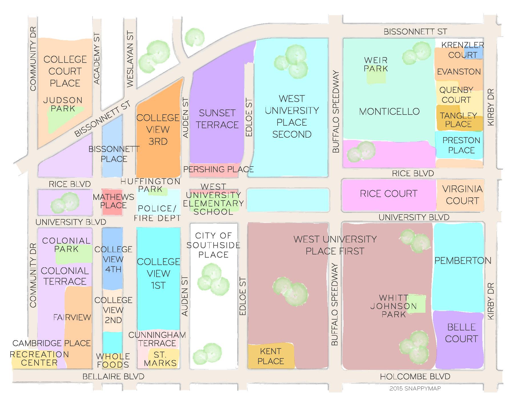 Houston Real Estate Map