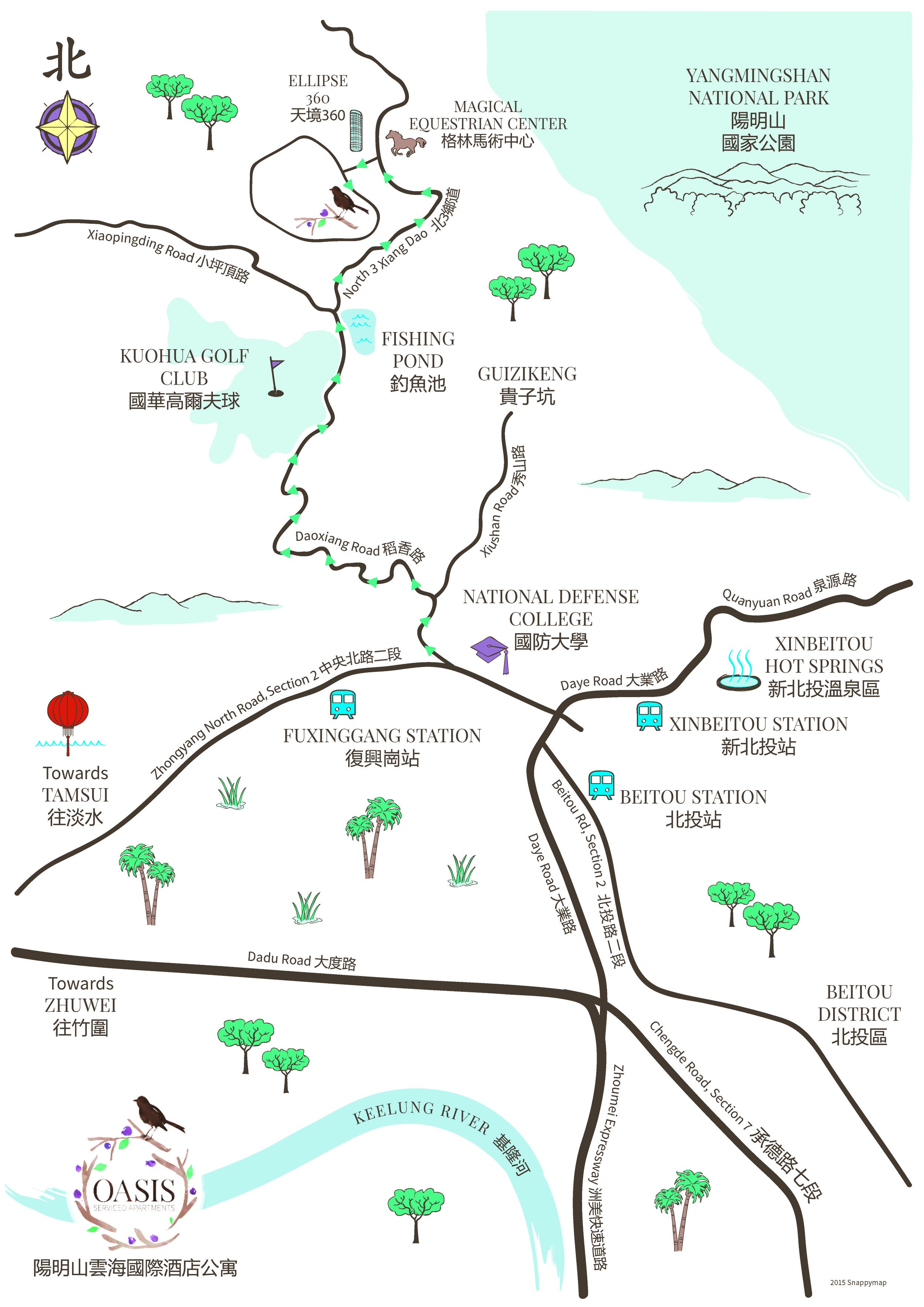 Taipei Apartment Map