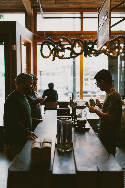 Four Barrel Coffee, San Francisco, CA | Someplace Wild | www.someplacewild.com