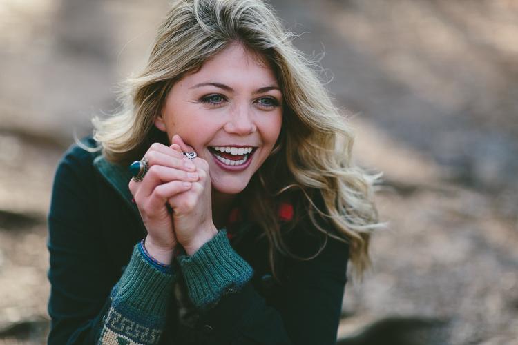 Lindsey's Close Up Fall Fashion Portrait