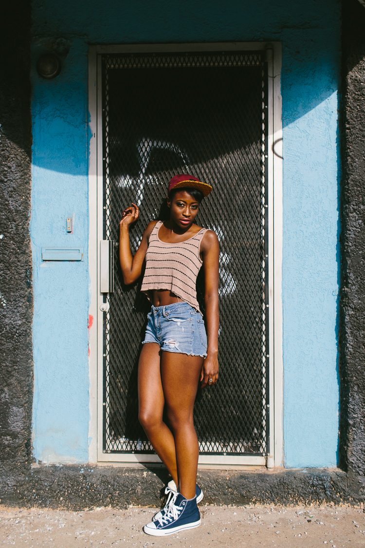 Atlanta Street Style Fashion Portrait