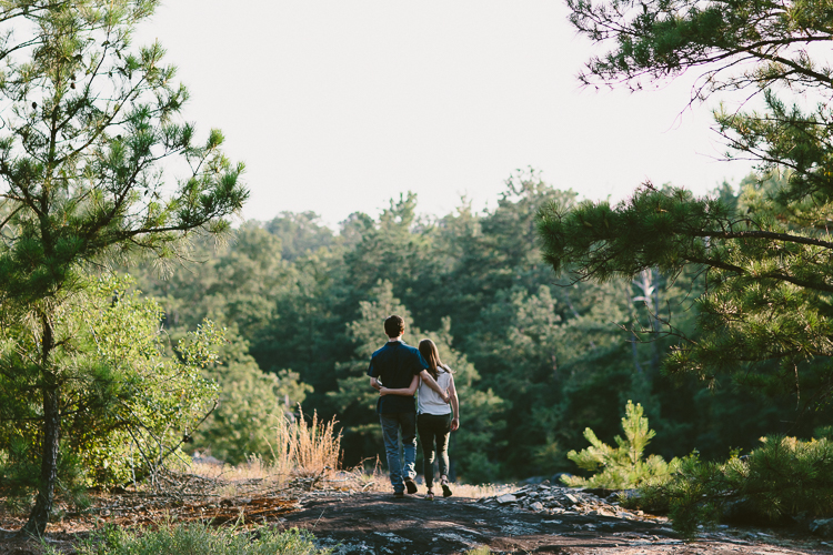 Couple Walking from Behind