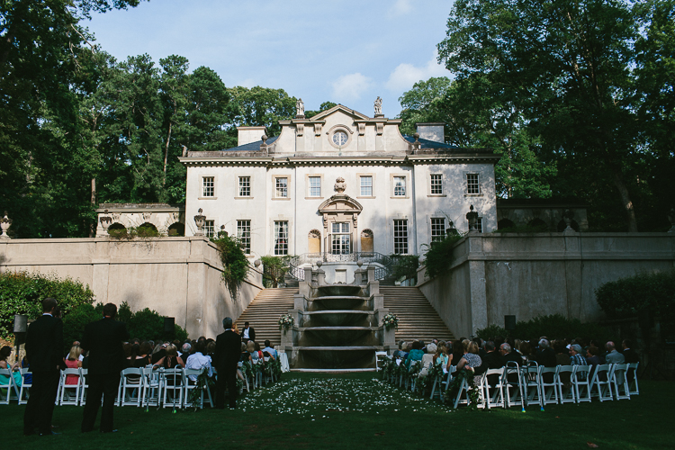 Beautiful Fairytale Swan House Wedding