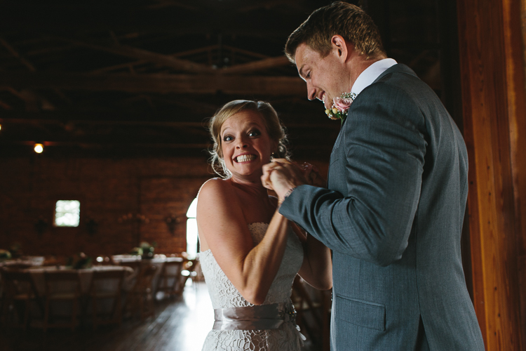The Bride and Groom's Excitement at their First Glance