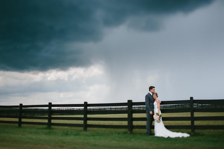 Stormy Wedding Day Portraits