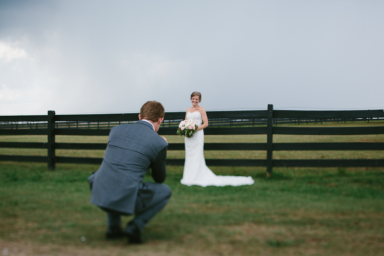 The Groom Capturing His Bride's Beauty