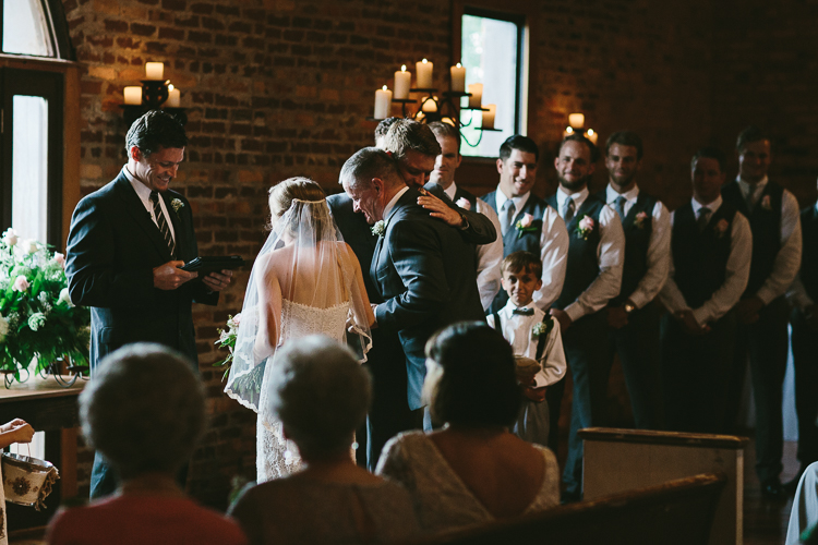 The Father Giving Away the Bride