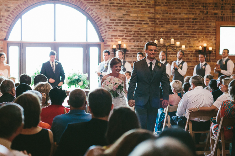 Ending of the Wedding Ceremony