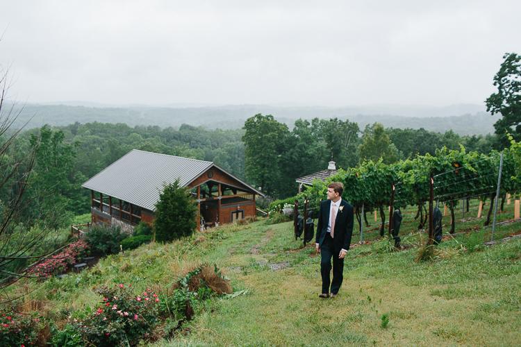 Portraits of the Groom | Wolf Mountain Vineyard Wedding