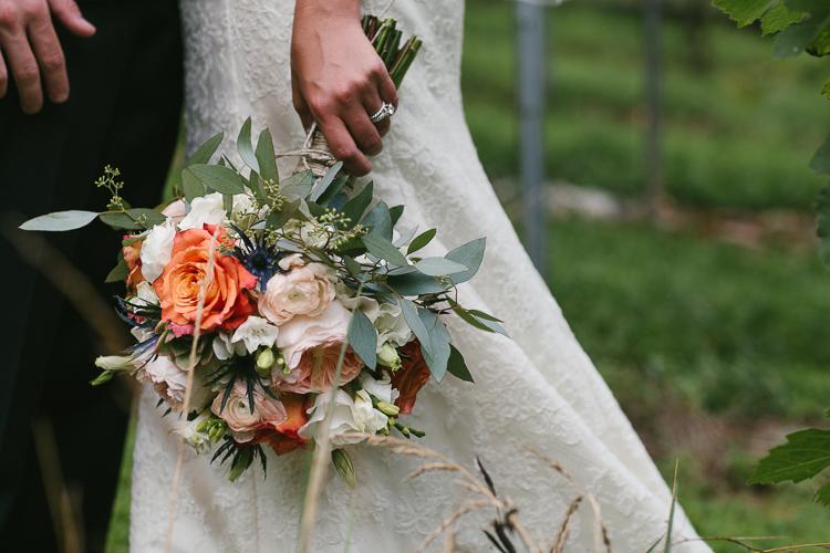 The Brides Beautiful Bouquet