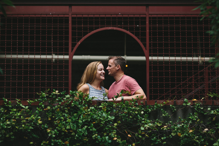 Westside Atlanta Engagement Portraits
