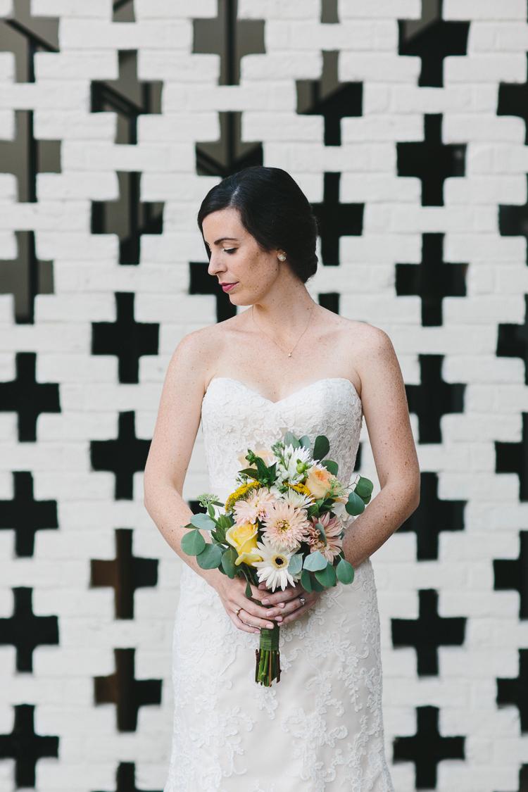 Unique bride portraits
