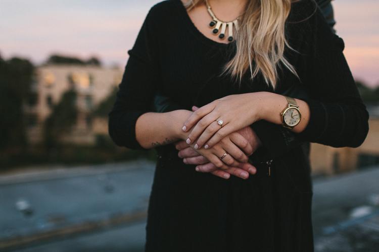 Engagement ring portraits