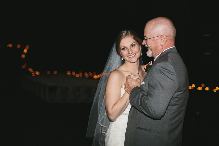 Father and bride's first dance
