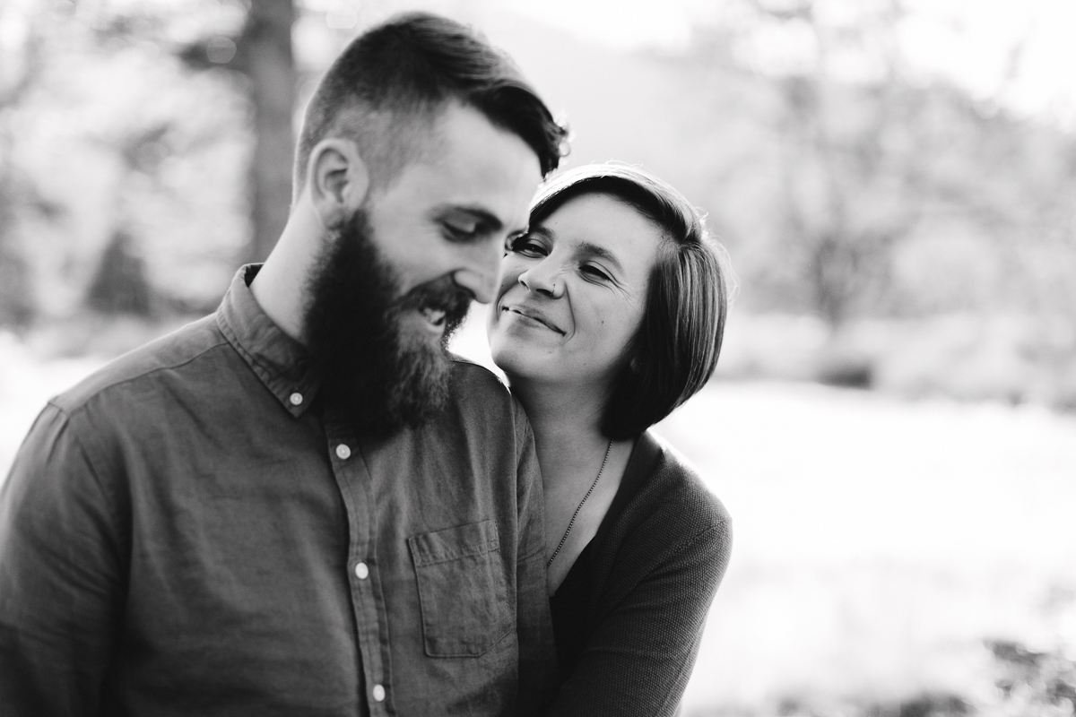 Engagement Portrait Session in Los Padres National Forest