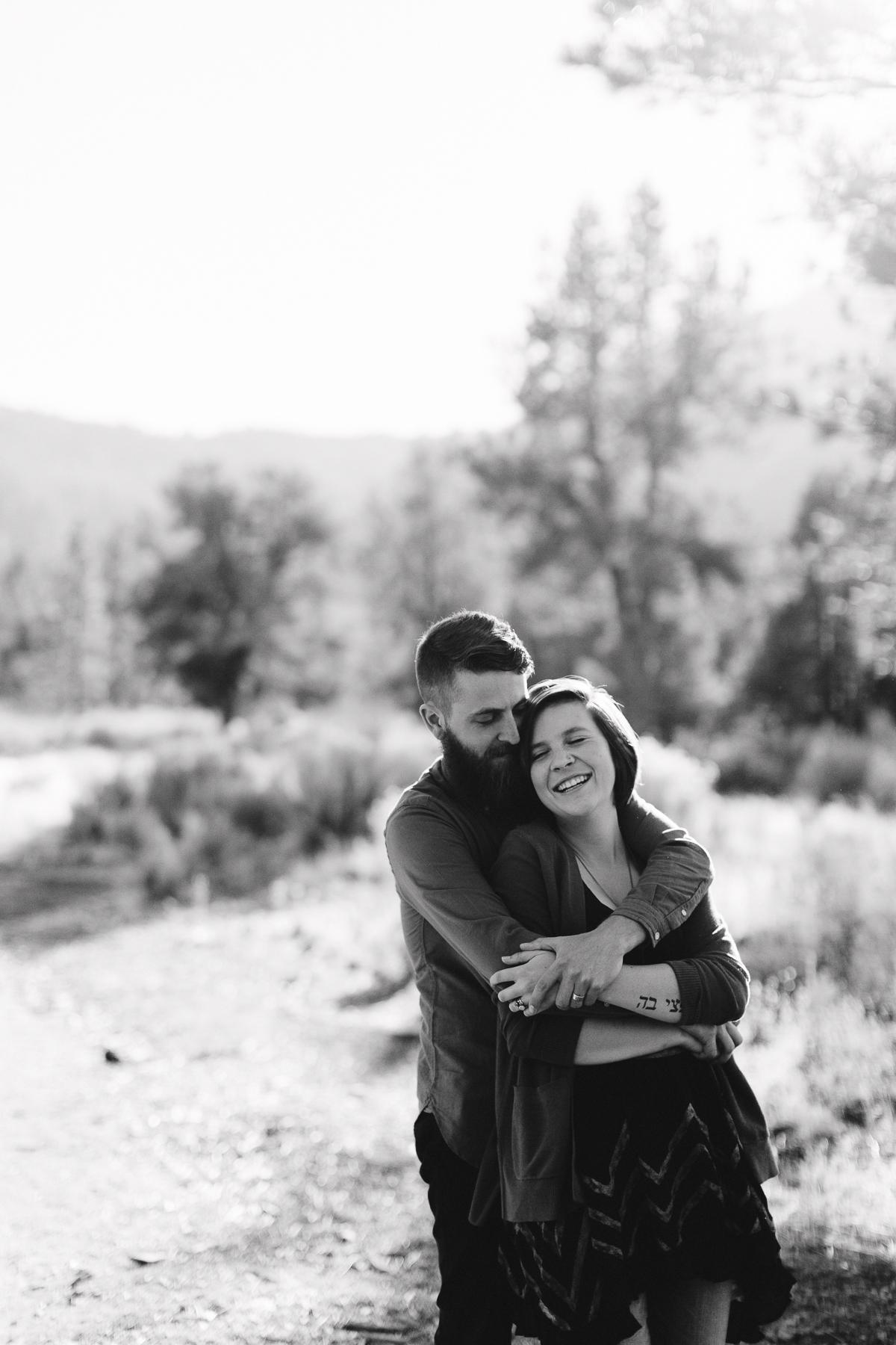 Los Padres Mountain Engagement PortraitSession