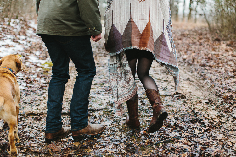 Engagement Portraits in Oxford, Mississippi