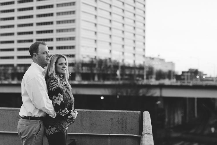 Downtown Atlanta Engagement Portrait Session