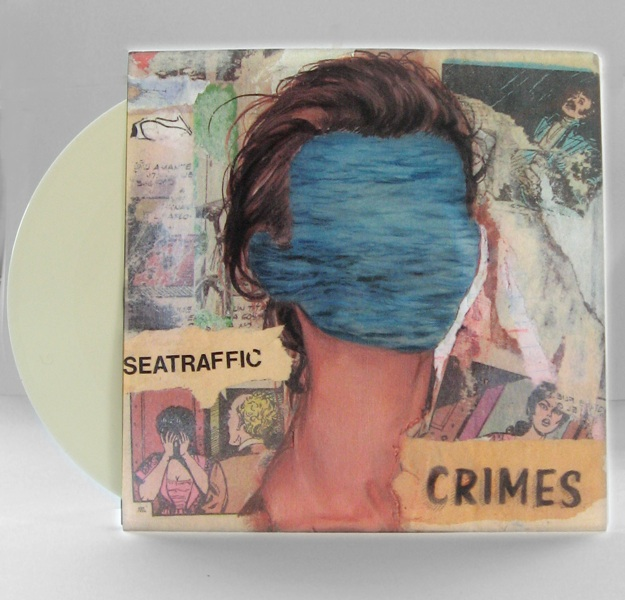 "Seatraffic  Crimes  7"" cover art//design"