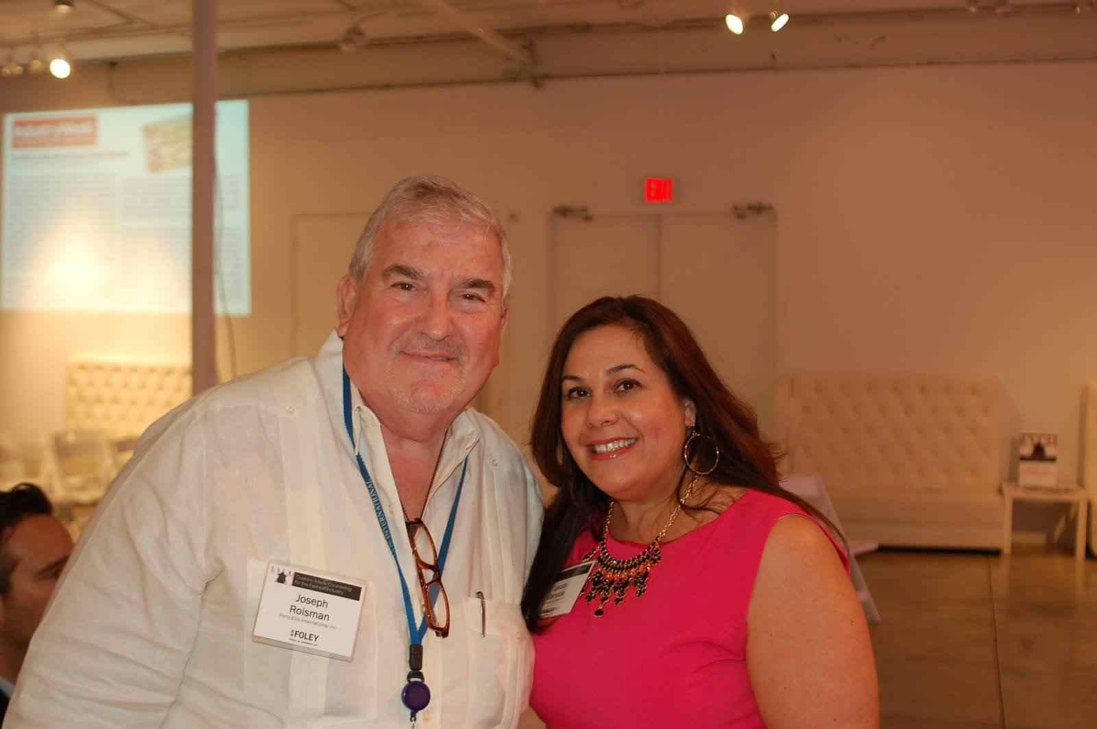 Ms. Laura Ganoza, Partner, Foley & Lardner LLP and Mr. Joseph Roisman   Executive Vice President, Perry Ellis International