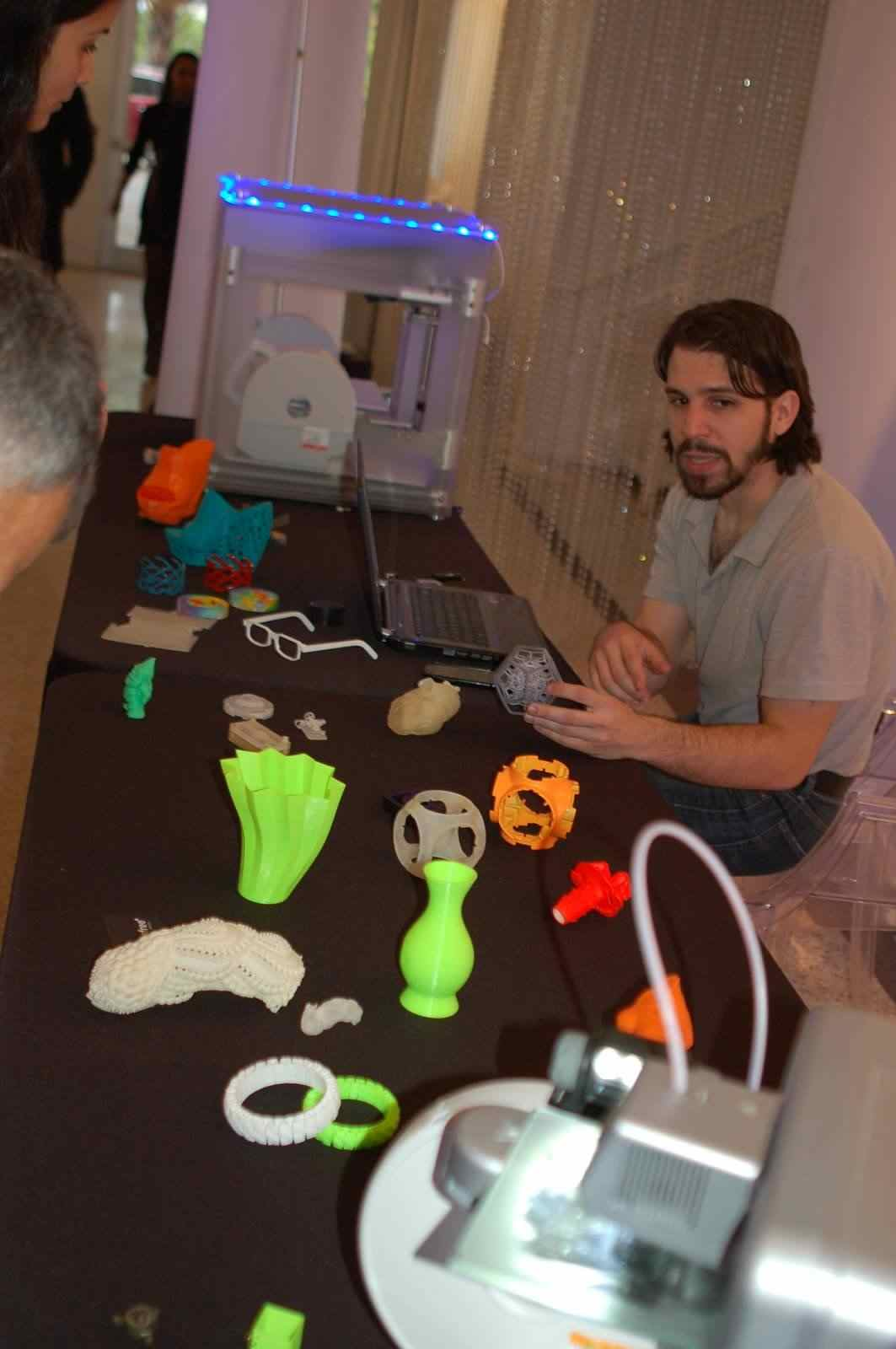 3D printing demonstration by WB Engineering