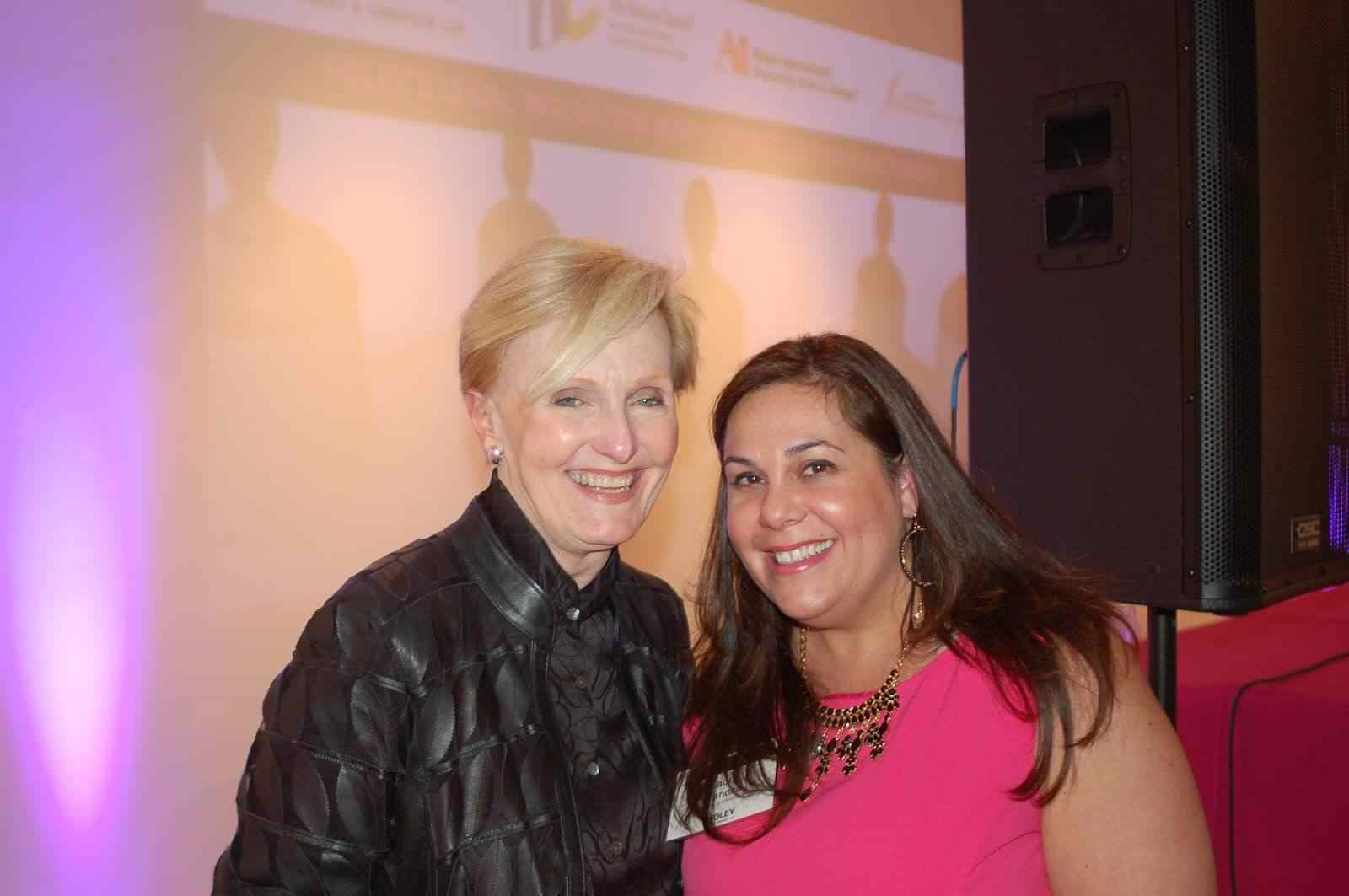 Ms. Laura Ganoza, Partner, Foley & Lardner LLP and  Ms. Charlene Parsons,  Chair for Fashion Merchandising, Fashion Design and Accessory Design