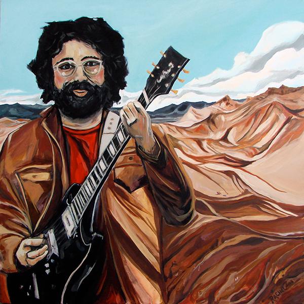 Jerry on Zabriskie Point