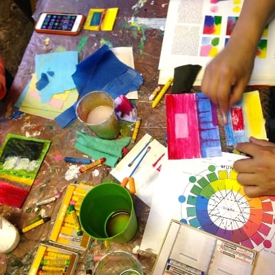 Art Classes, Team Workshops