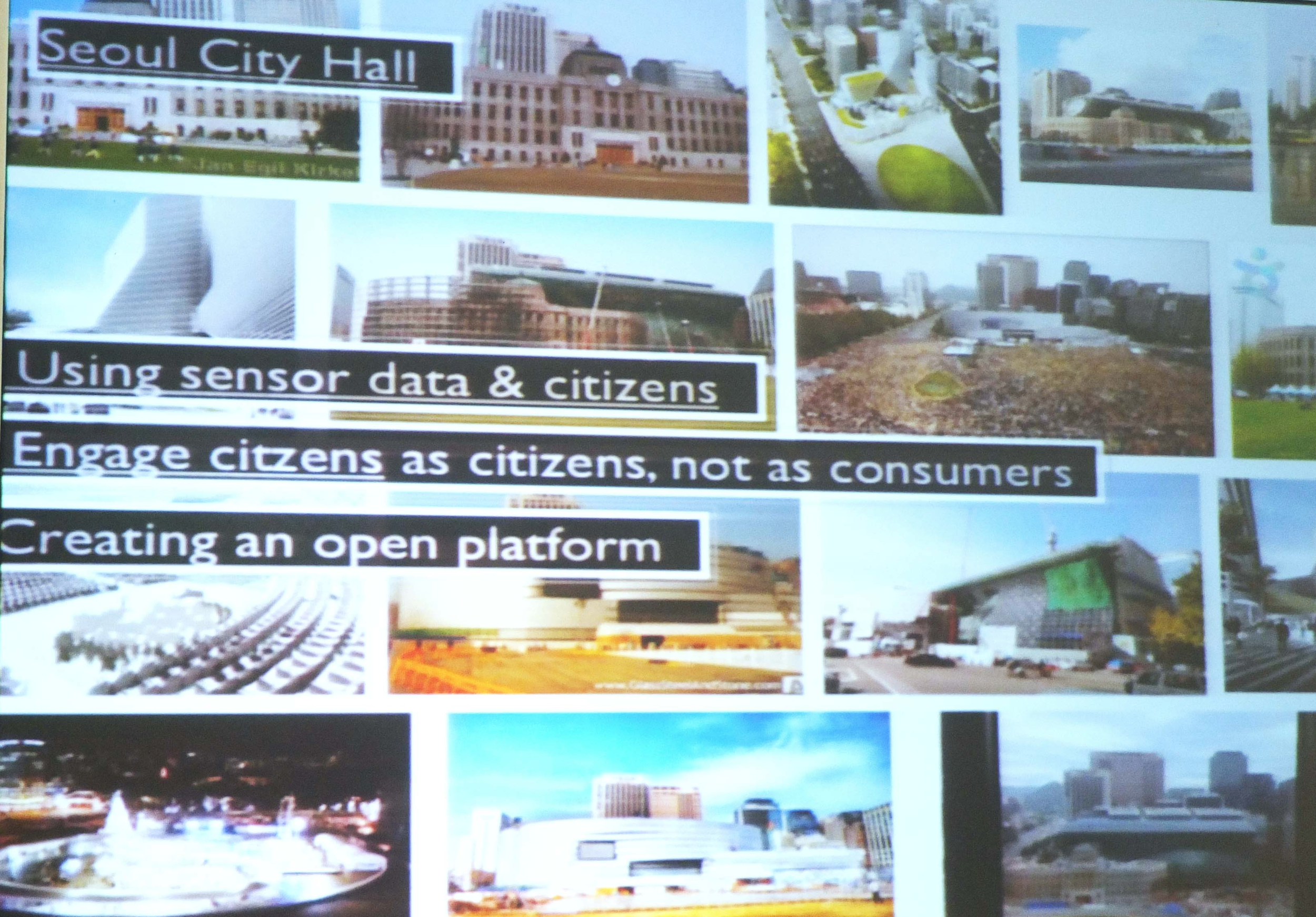 Martijn de Waal's presentation on Seoul