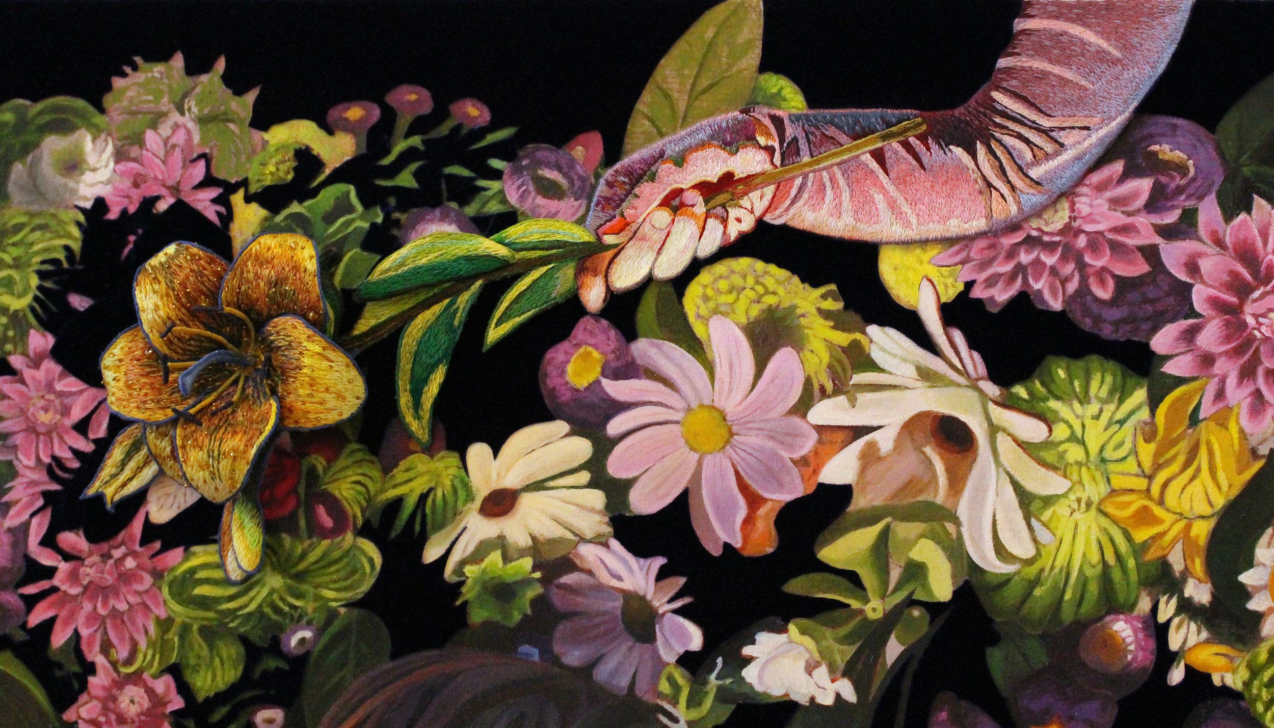 Flowering (detail)