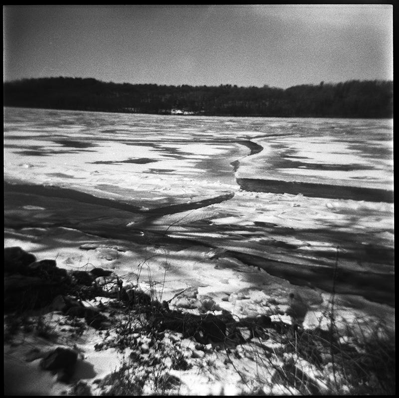 Frozen Hudson River | Riverview Street | Stuyvesant, NY