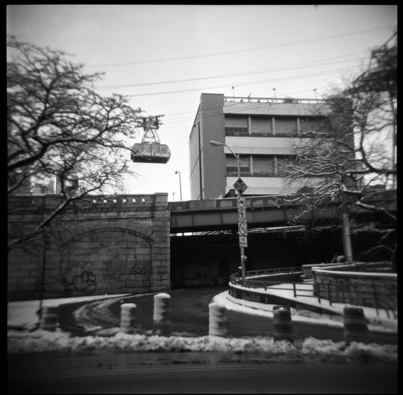 Queensborough Bridge on ramp | E. 59th Street | New York City