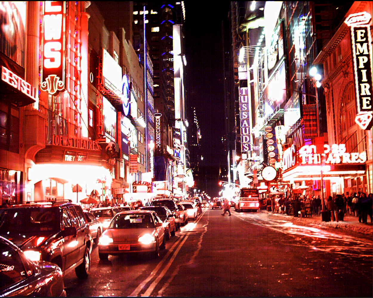 42nd Street Times Square, New York City