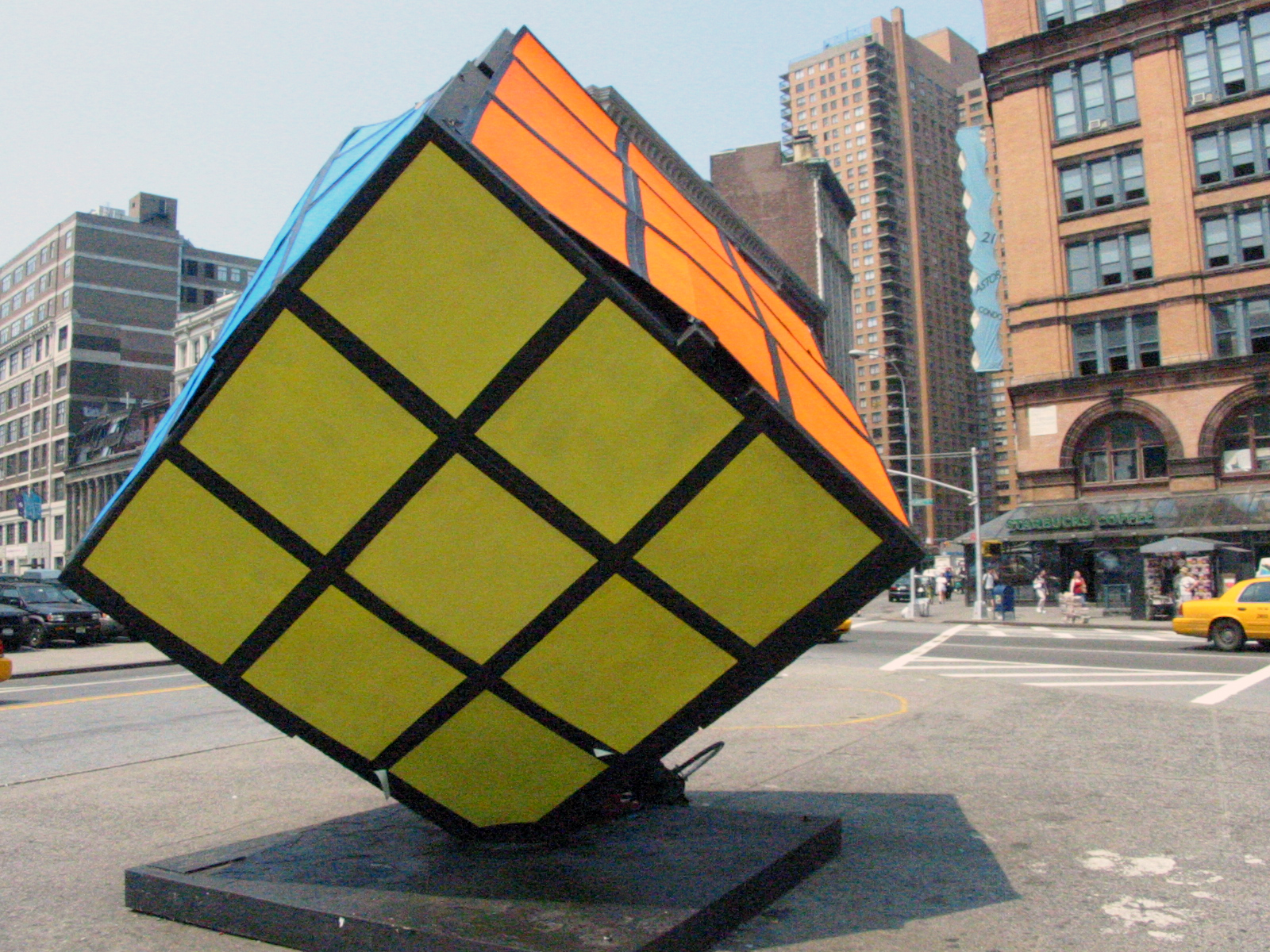 The Cube, Astor Place, New York City