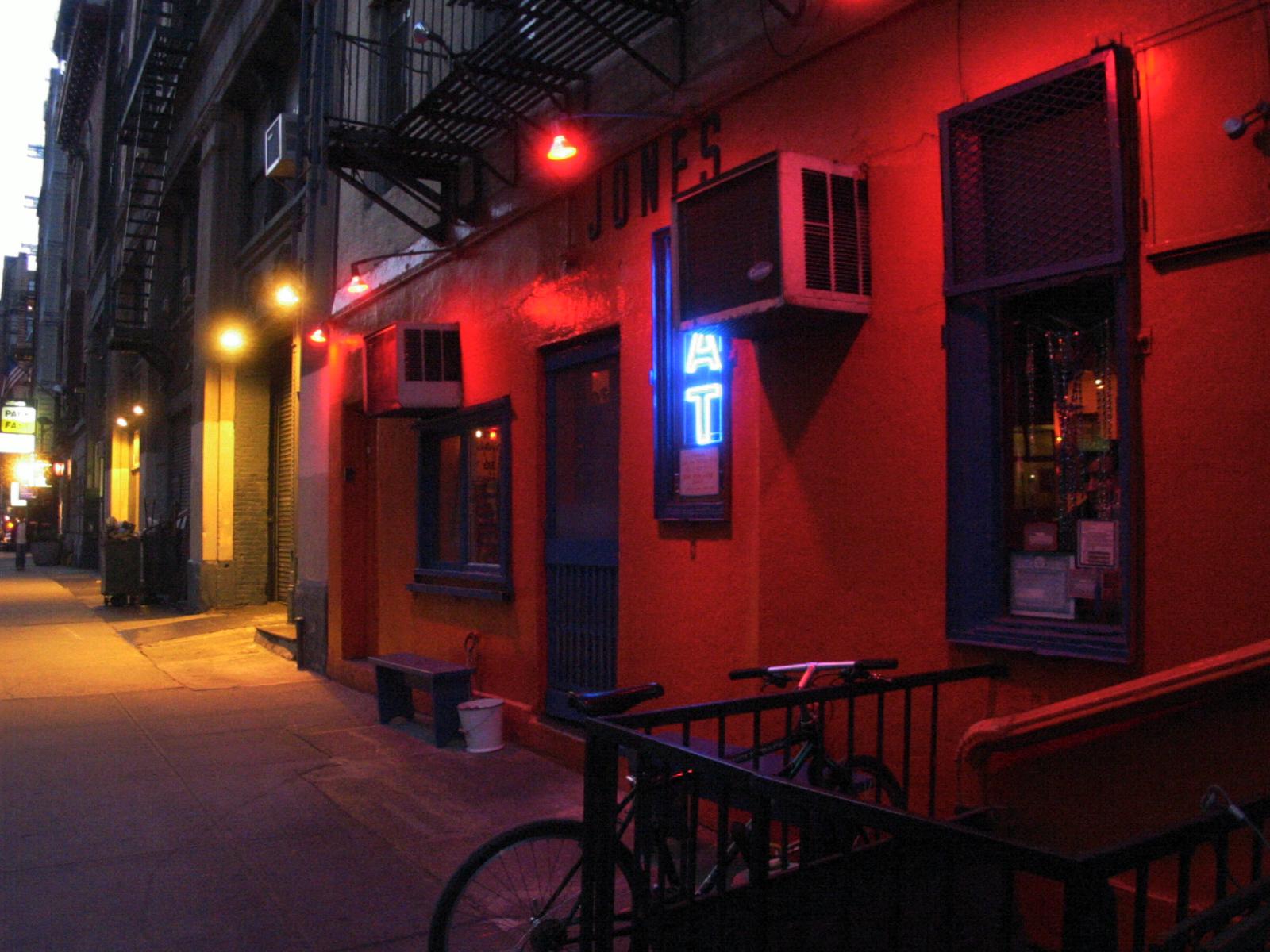 Great Jones Cafe, Great Jones Street, New York City