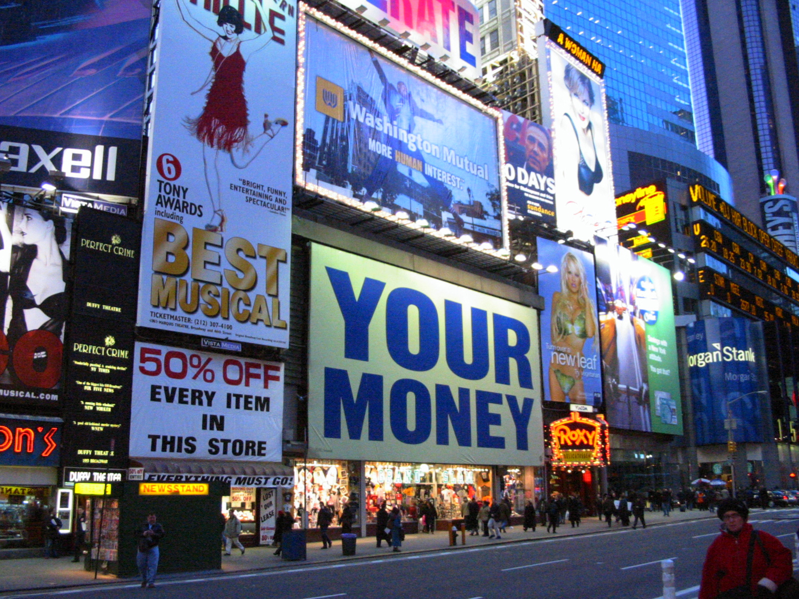 Times Square, Broadway, New York CIty
